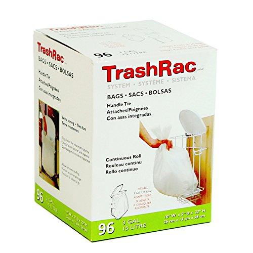 Mcb Global 87096 96Ct 3 Gal. Trashrac Bag
