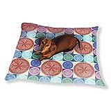Mandala Patchwork Dog Pillow Luxury Dog Cat Pet Bed