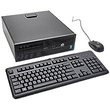 HP G5R58UT#ABA ProDesk 600 G1 Mini Desktop, 4 GB RAM, 500 GB HDD, Intel HD Graphics 4600, Black