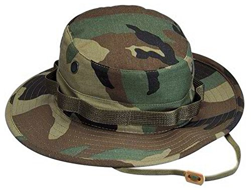 Rothco Boonie Hat Woodland Camo - (7 1/4) Inch -