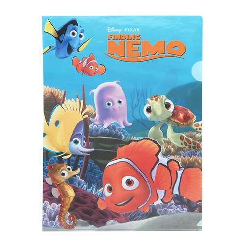 Fine computing Nemo A4 Clear File by japan