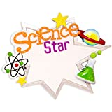 Personalized Science Star Christmas Ornament for Tree 2018 - Scientist Star Big Ben Laboratory Space Toy - Scholar Wo-Man Practitioner Study Physician New Job MD PhD Work -Free Customization by Elves