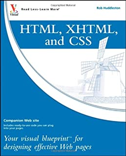 Php mysql your visual blueprint for creating dynamic database html xhtml and css your visual blueprint for designing effective web pages malvernweather Gallery