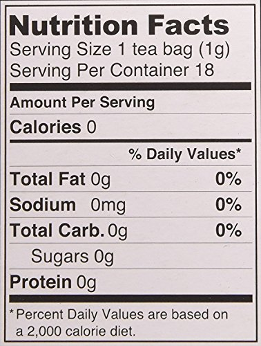 Organic Marshmallow Leaf Tea, 18 Bleach-Free Tea Bags - Caffeine Free Tea Supports Gastrointestinal Issues and Respiratory Health, Rich in Vitamins and Minerals, No GMOs