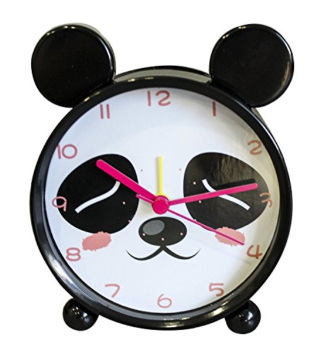 Cute Panda Children Alarm Clock I Silent I Kids Friendly I