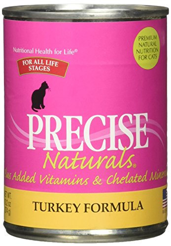 Precise Pet Fabulous Turkey Feline Formula in 24 5.5 oz cans