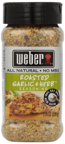 Garlic Chicken - Weber Seasoning, Roasted Garlic and Herb, 7.75 Ounce