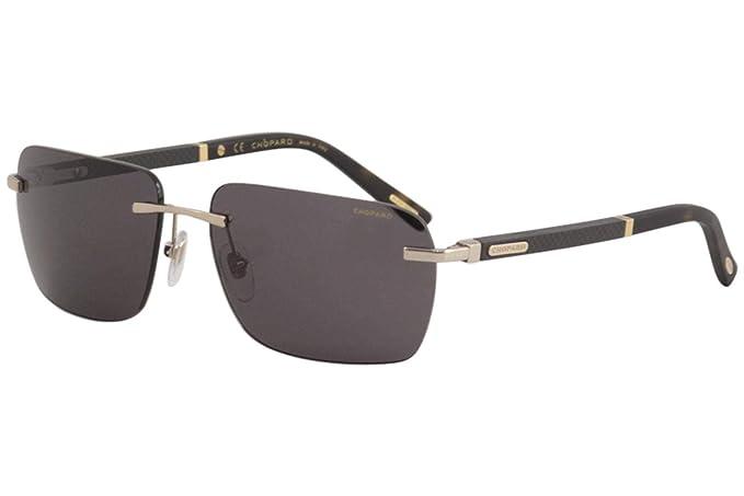 Amazon.com: anteojos de sol Chopard SCHB 76 rojo Gunmetal ...