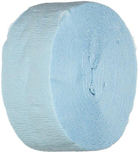 Grad Streamer (FR Festive Crepe Streamer (lt blue) Party Accessory  (1 count) (1/Pkg))