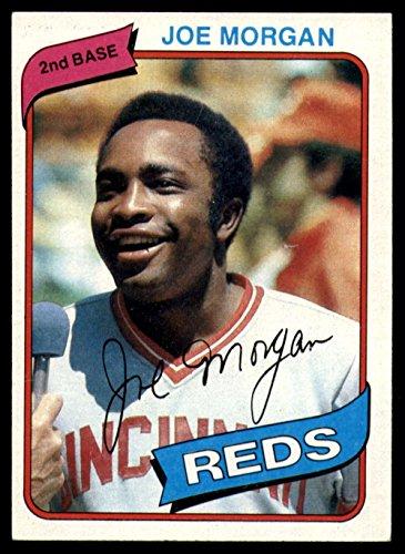 - Joe Morgan 1980 Topps #650 Reds Baseball Card