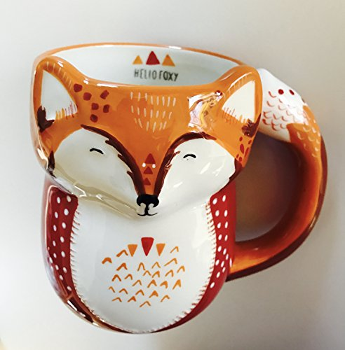 Hello Foxy -- 3d Fox Mug by Tag (Mug Fox Tag)