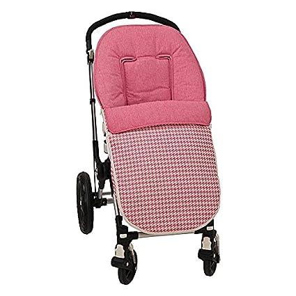 Saco para silla paseo universal. Desmontable en colchoneta y cubrepies. Válido para las diferentes sillas del mercado. Bebelovers, Koketes, Mobibe