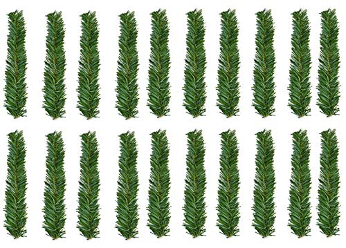 Haute Decor GarlandTies, 20 Pack 14 inches (Noble Fir) (Garland Ties)