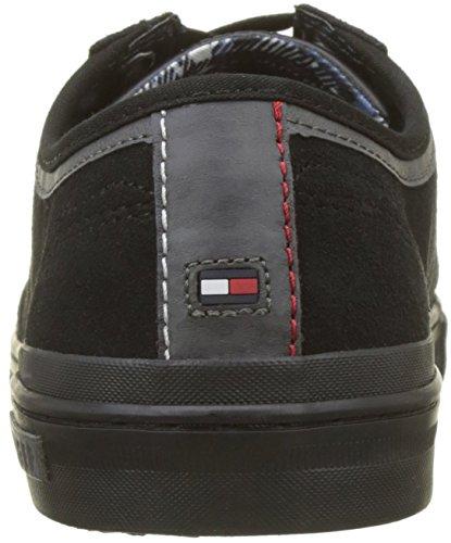 Chaussure Herren 990 Schwarz Hilfiger noir Tommy Lacer Noyau Daim I4wxv