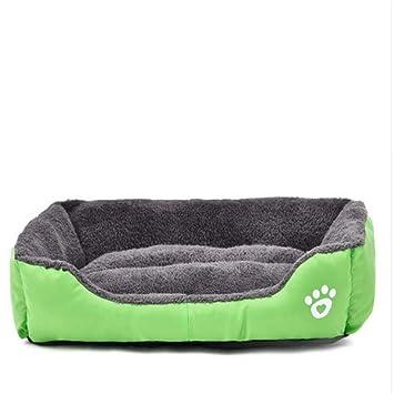 Wuwenw Cama para Perros Invierno Cálido Y Suave para Mascotas Perro Gato Casa Sofá Impermeable Y