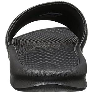 NIKE Men's Benassi Just Do It Slide Sandal, Black, 11 D(M) US