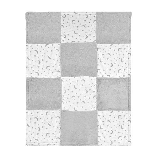 Patch Baby Blanket (Koala Baby Printed Patchwork Blanket - Stars and Moon)