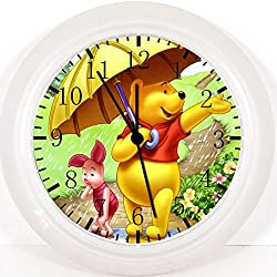 New Winnie the Pooh Wall Clock 10 Will Be Nice Gift and Room Wall Decor Z07