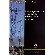 La déréglementation des marchés de l'électricité et du gaz : Les grands enjeux économiques