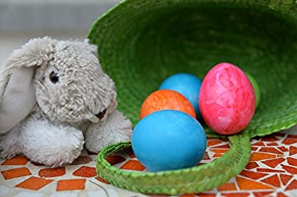 Amazoncom Home Comforts Canvas Print Color Easter Easter Bunny Egg - Color-easter-eggs