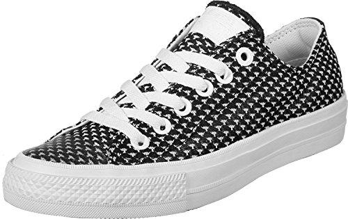 155461c Converse white Noir Black Shoe Noir Womens blanc blanc noir PUqqCw1x