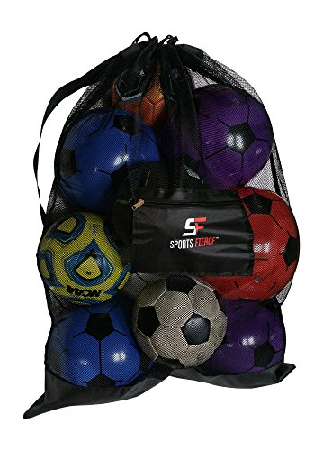 Bag Of Rugby Balls - 6