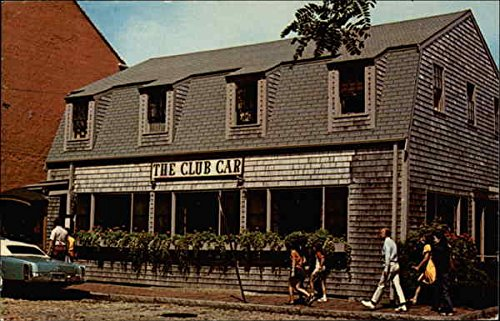 The Club Car Restaurant & Lounge Nantucket, Massachusetts Original Vintage Postcard