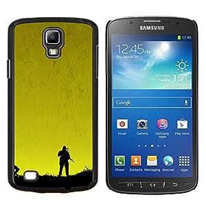 Qstar Arte & diseño plástico duro Fundas Cover Cubre Hard Case Cover para Samsung Galaxy S4 Active i9295 (Metal Gear Sunset)