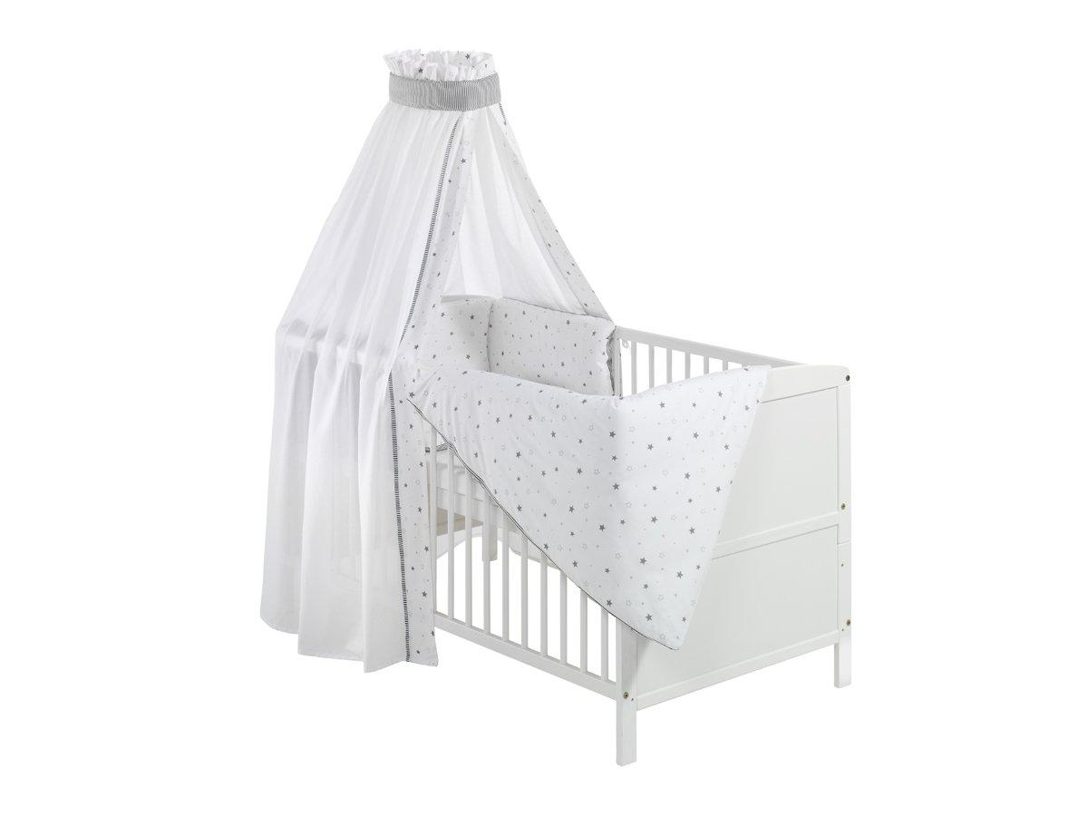 Schardt 040771902 1/679 Komplettbett Conny, weiß, mit textiler ...
