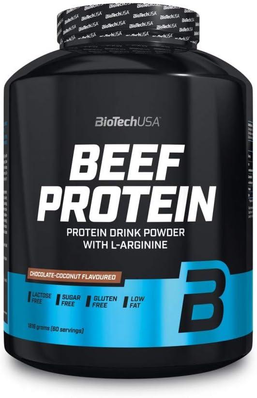 BioTech Beef Protein Hydro Beef Proteínas de Carne de ...