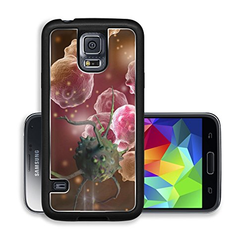 Liili Premium Samsung Galaxy S5 Aluminum Backplate Bumper Snap Case IMAGE ID 33243694 cancer cell made in 3d software