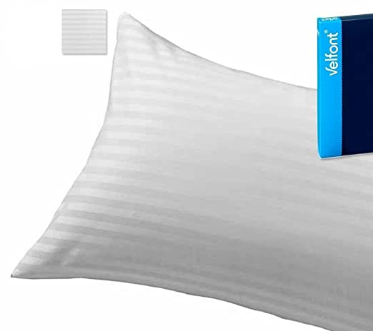 Velfont Cuadrante Relleno de Cojin Blanco 60 x 60 cm