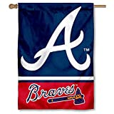 WinCraft Atlanta Braves Two Sided House Flag