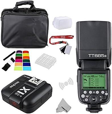 Fomito Godox TT685S TTL 2,4GHz Inalámbrico Master/Externo ...
