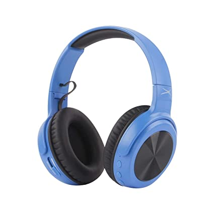 9bb4be1eb24 Altec Lansing MZX701- Blue Rumble Bass Boosted Over Ear Bluetooth Headphones  with Omnidirectional Vibration,