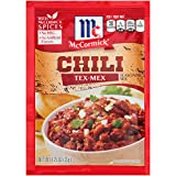 McCormick Tex-Mex Chili Seasoning Mix, 1.25 oz (Pack of 12)