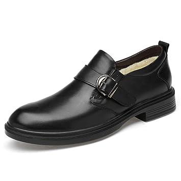 688e3f98 Best-choise Moda Oxford de los Hombres Cómodo y Conveniente Zapatos  Formales Forrados con vellón