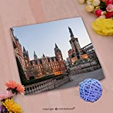 VROSELV Custom Cotton Microfiber Ultra Soft Hand Towel-imperial college in london Custom pattern of household products(20''x20'')