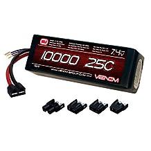Venom 25C 2S 10000mAh 7.4 LiPO Battery with Universal Plug System