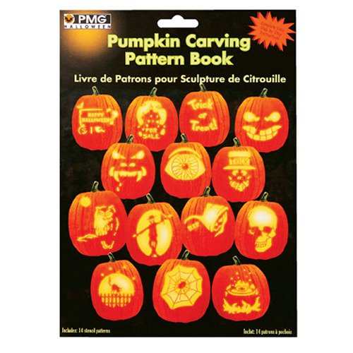 PMG Halloween Pumpkin Carving Pattern Book
