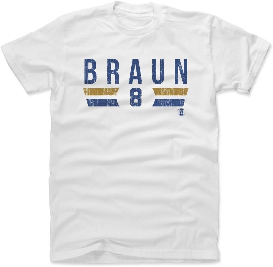 500 LEVEL Ryan Braun Shirt - Milwaukee Baseball Men's Apparel - Ryan Braun Font