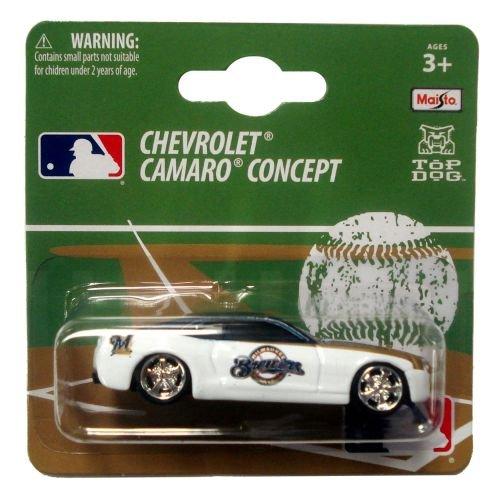 MLB Milwaukee Brewers 1:64 Camaro Die Cast Car (Car Brewers Mlb Milwaukee)
