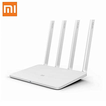 Mi Wireless Router 3, Xiaomi AC1200 Dual Band Smart Wireless WiFi Router - App Long
