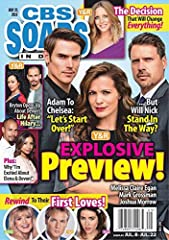 In depth coverage of only the CBS soap opera shows. Fearturing can't miss previews, exclusive celebrity interviews and the latest news.