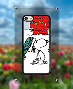 Charlie and Snoopy IPod Touch 6th Funda Case Pretty Pattern Durable Popular Vivid Design Drop Protection Cell Phone Cover For IPod Touch 6th - By Yacoco