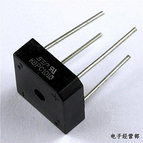 Price comparison product image Quickbuying 10PCS 10A 1000V Metal Case Bridge Rectifier SEP KBPC1010 New