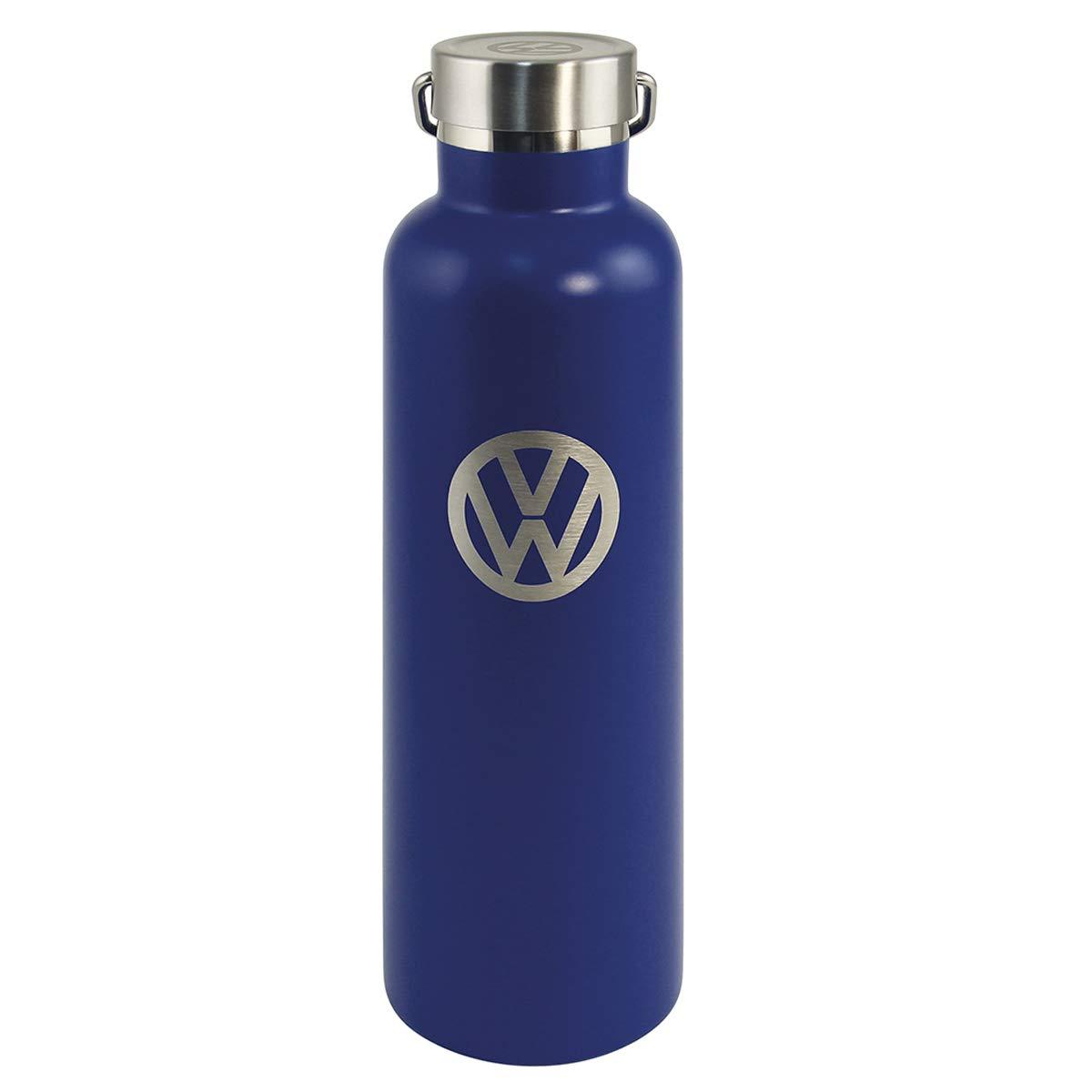 Volkswagen [Q1991] - Design Isothermal Bottle 'Volkswagen' Blue Gray Vintage - 25x7 cm (9.84''x2.76'') (73.5 cl).