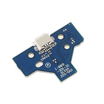 Gazechimp Tarjeta de Puerto de Carga USB placa de zócalo ...