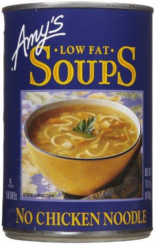 Amy's No Chicken Noodle Soup, 14.1 oz, 12 pk (Amys No Chicken Noodle Soup)