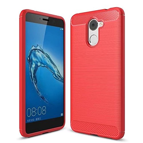 competitive price 6a47f cee5c Huawei Y7 Prime Case,Valenth Carbon Fiber Partern Soft Case for Huawei Y7  Prime/Enjoy 7 Plus 5.5